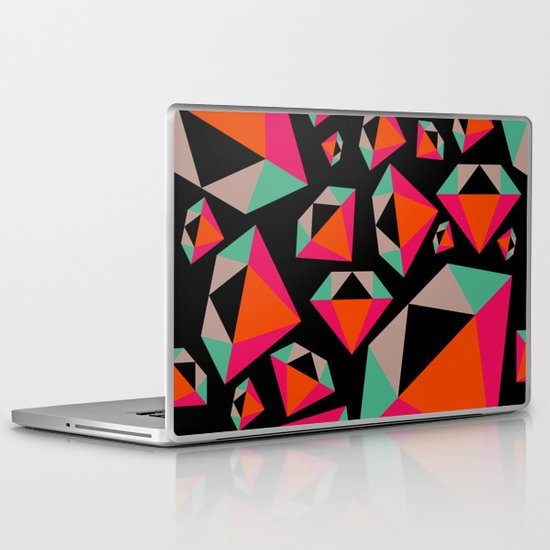 Diamonds Are A Girl's Best Friend Laptop & iPad Skin
