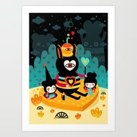 There's Something About … Art Print