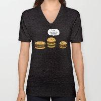 Burger Bullies Unisex V-Neck