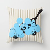 WineWineWine! Throw Pillow