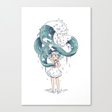 Daughter of the Sea Canvas Print
