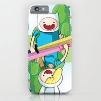 Adventure Time: Finn & F… iPhone 6 Slim Case