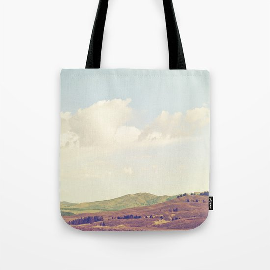 Summer Field Tote Bag