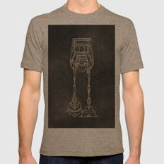 AT-AT Mens Fitted Tee Tri-Coffee SMALL