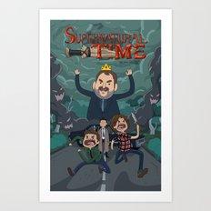 Supernatural Time!  Art Print
