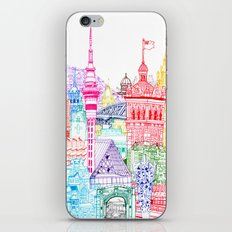 New Zealand Towers  iPhone & iPod Skin