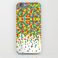 Pixel Chaos iPhone 6 Slim Case