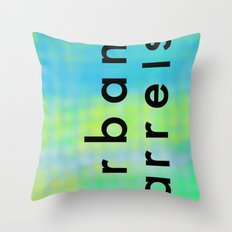 Urban Barrel Type Throw Pillow