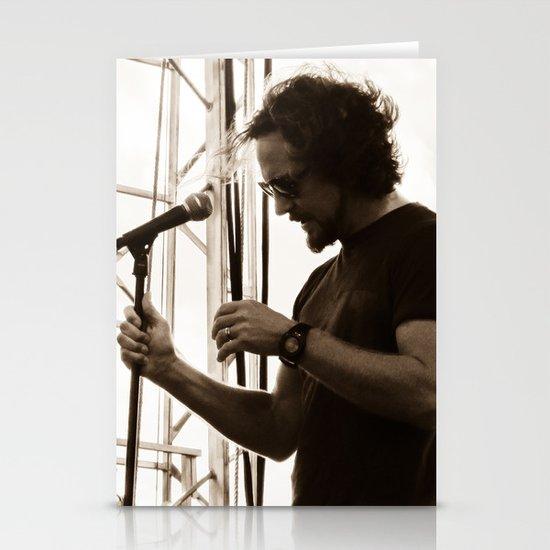 Vedder - Pearl Jam 20 Festival Stationery Card