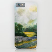 Lavender Field iPhone 6 Slim Case