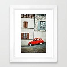 Vieux style Framed Art Print
