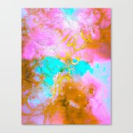 Curly Abstract Canvas Print