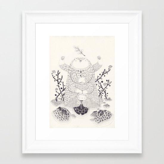 falcor Framed Art Print