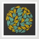 Autumn Wind Art Print