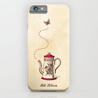 iPhone & iPod Case featuring Tea time by iamtanya