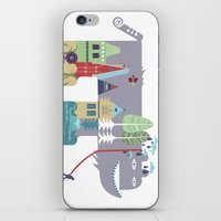 Walking Beast iPhone & iPod Skin