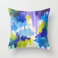 WINTER DREAMING - Jewel … Throw Pillow