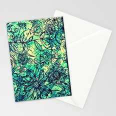 Drawing Flowers - for iphone Stationery Cards