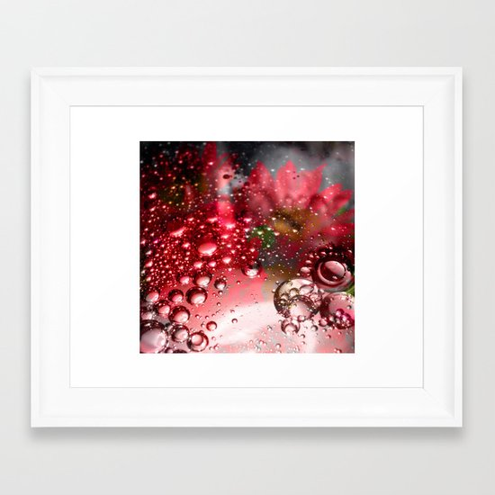 inflorescence beads Framed Art Print