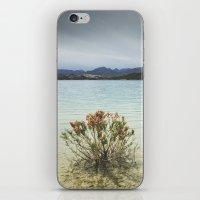 Storm at the mountains. Bermejales lake. Retro iPhone & iPod Skin