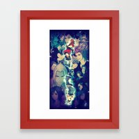 Kingdom Hearts Framed Art Print