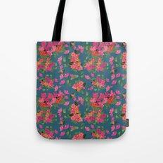 April blooms(Bougainvillea_blue) Tote Bag