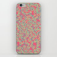 Neon Bubbles iPhone & iPod Skin