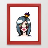 Sugar Rush Close Up Framed Art Print