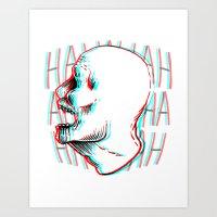 HAHAHA Art Print