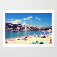 ADRIATIC SUMMER Art Print