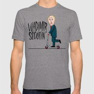 Vlad Scootin Mens Fitted Tee Tri-Grey SMALL