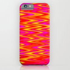 WAVY #1 (Reds, Oranges, Yellows & Fuchsias) Slim Case iPhone 6s