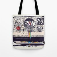 Tote Bag featuring COLOR BLINDNESS by Huebucket