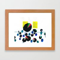 Group Therapy, Coffee Br… Framed Art Print