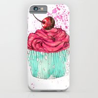 iPhone & iPod Case featuring Creative Cupcake... by Vicky Ink.