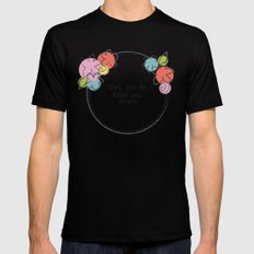 Floral - Killin Em Mens Fitted Tee Black SMALL