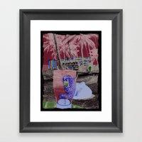 PINT GLASS Framed Art Print