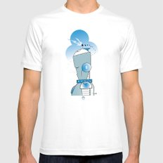 8 of Clubs SMALL Mens Fitted Tee White