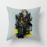 Sons Of Monarchy Throw Pillow
