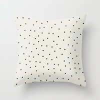 Stracciatella Throw Pillow