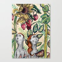 And Eve Canvas Print