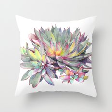 Succulent #2 Throw Pillow