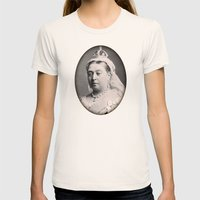 Victorian Pattern 1 Womens Fitted Tee Natural SMALL
