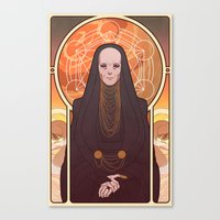 Reverend Mother Canvas Print
