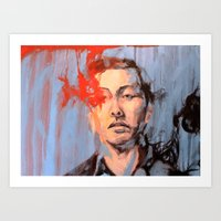 The Imminent And The Aft… Art Print