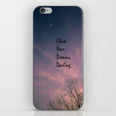 Dream Chaser iPhone & iPod Skin