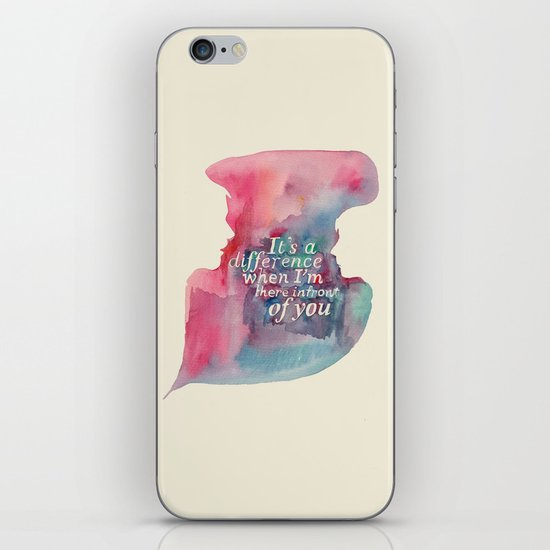 My Touch iPhone & iPod Skin
