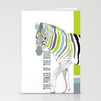 The power of the road Stationery Cards