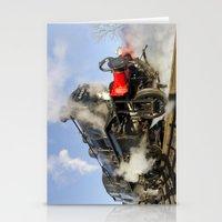 Steam Locomotive 46521 Stationery Cards