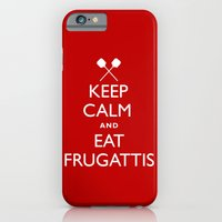 iPhone & iPod Case featuring EAT FRUGATTI'S by big tony